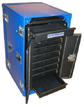 Laptop Lock-Up Deployable E-Tool Cabinet Model LL7D-07